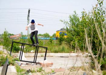 Nick Bax: frontside boardslide